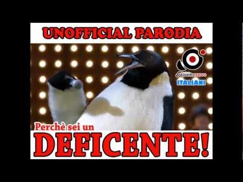 PARODIA PINGUINO PINO – Perché sei deficiente (CIAO BELLI)