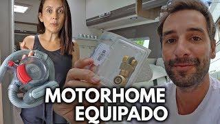 NOVOS ACESSÓRIOS PARA O MOTORHOME  | Travel and Share