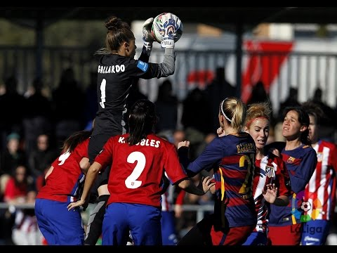 [HIGHLIGHTS] FUTBOL FEM (Liga): Atlético Féminas-FC Barcelona (0-0)