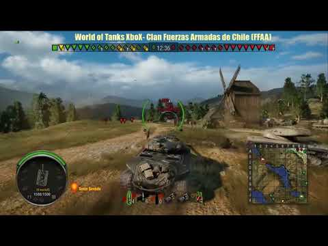15-0 Epic Win World of Tanks Clan FFAA Chile Xbox One