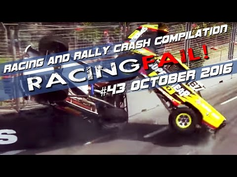 Racing and Rally Crash Compilation Week 43 October 2016