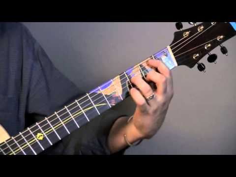 Fingerstyle Guitar Lesson by Al Petteway, The Crossing. Part 2: Instruction