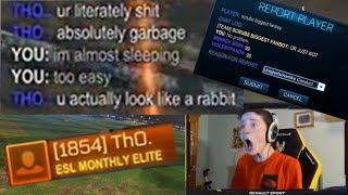Scrub Killa's journey vs. a toxic RL player