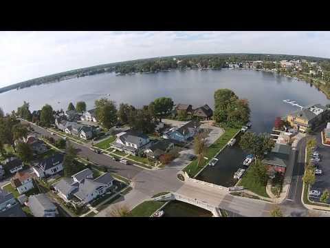 Winona Lake, Indiana - Video Aerial Views By: Chris Sanchez