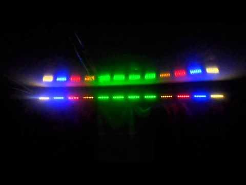 Цветомузыка светодиодная лента своими руками