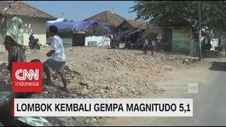 Gempa 5,1 Magnitudo Kembali Guncang Lombok, Warga Berhaburan Panik