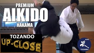 Tozando Premium Aikido Hakama - Great Aikido Performances -Tozando Up-close #3