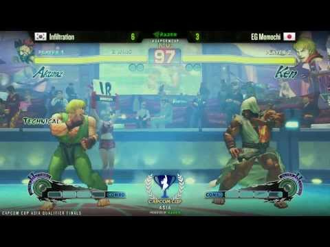Infiltration vs Momochi - Capcom Cup Asia Finals - FT7 Round Robin
