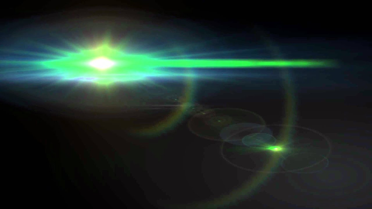 Bright Green Lens Flare - UFO Looking Object - YouTube