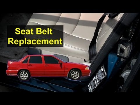Volvo S70, V70 Seat Belt Replacement - Auto Repair Series