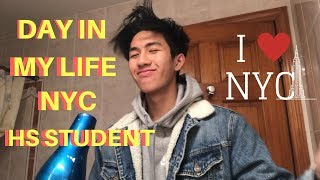 DAY IN MY LIFE | NYC HIGH SCHOOL STUDENT