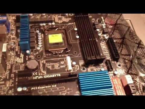 Gigabyte Z77X-D3H ATX Motherboard - LGA 1155 - Unboxing and Review