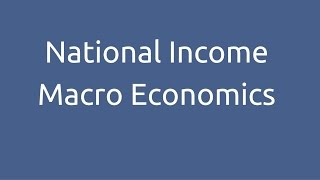 Introduction to National Income | CA CPT | CS & CMA Foundation | Class 11 | Class 12