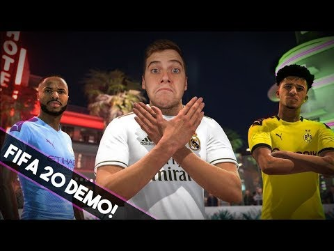 ITT A FIFA 20 DEMO!