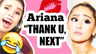 "AMAZING reactions to ""Thank u, next"" by ARIANA GRANDE"