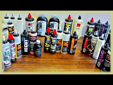 Best Car Polishes And Compounds Review