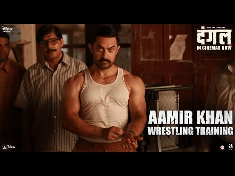 Dangal | Aamir Khan Wrestling Training  | In Cinemas Now thumbnail