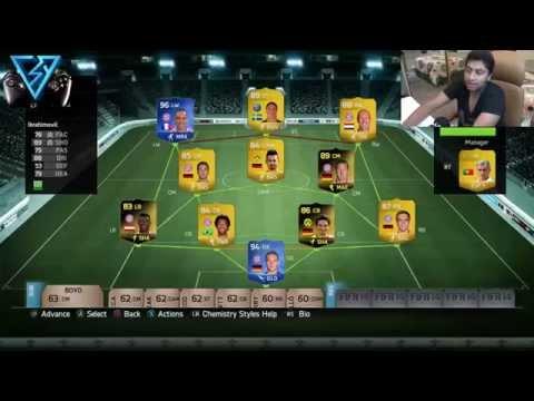 #3 Fifa 14 Ultimate Team - التشكيلة السمبتيكية