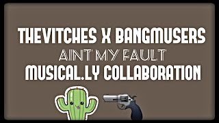 TheVitches x BangMusers || Aint My Fault Musical.ly Video || BJohn Video
