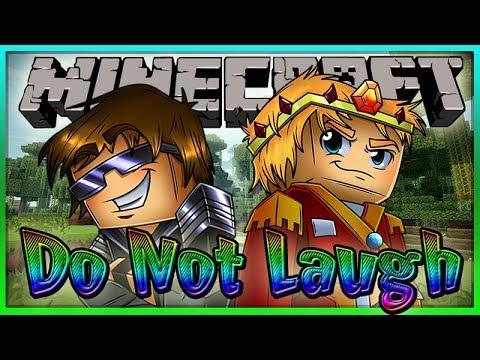 MINECRAFT: DO NOT LAUGH! Ft: SkyDoesMineCraft, PerpetualJordan, CraftyGarrett & OkwardIndustries!