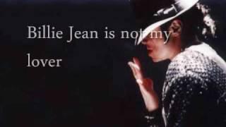 """Billie Jean"" by Michael Jackson w/ Lyrics"