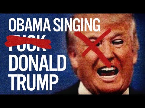 Barack Obama Singing Fuck Donald Trump by YG