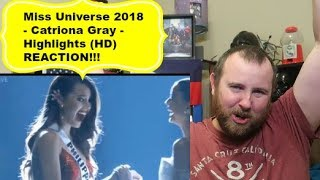 Miss Universe 2018 - Catriona Gray - Highlights (HD) REACTION!!