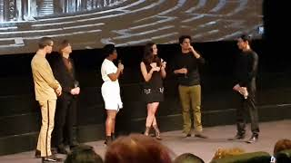 The Maze Runner: The Death Cure cast introduce the film