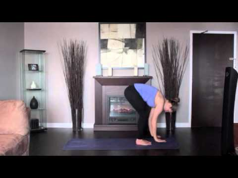 Yoga Chair Pose Side and Front