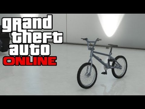 GTA Online - How To Store Bike as Car in Garage Glitch (Mechanic Delivers BMX) [GTA V Multiplayer]