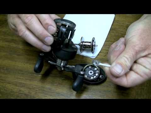 Lew's Reel Maintenance