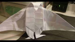 How To Make Easy 3d Vampire Origami 吸血鬼折り紙 Vampiro Wampir Vampir Bampira Вампир