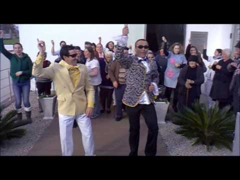 Gangnam Style in Real, Castelo de Paiva - Portugal.wmv