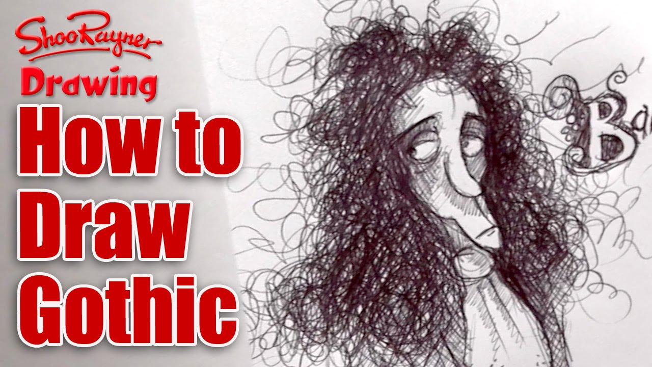 How To Draw Gothic Style With Famous Illustrator Chris Mould YouTube