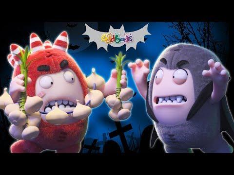 Spooky Ride | Funny Halloween Cartoons | Oddbods Show