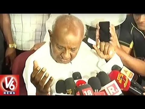 Deve Gowda Rules Out BJP-JD(S) Alliance After PM Modi's Praise | V6 News