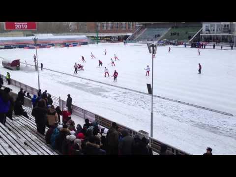 ЧМ по хоккею с мячом (юноши до 17 лет) Россия-Норвегия 8:1