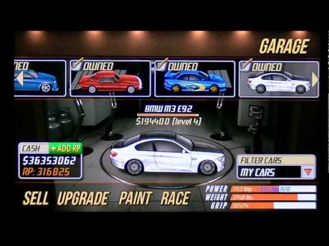Drag Racing 9.579 BMW M3 2nd gear tune Level 4 Quarter mile