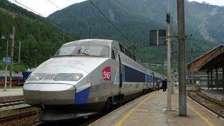 Paris to Milan by TGV train - video guide