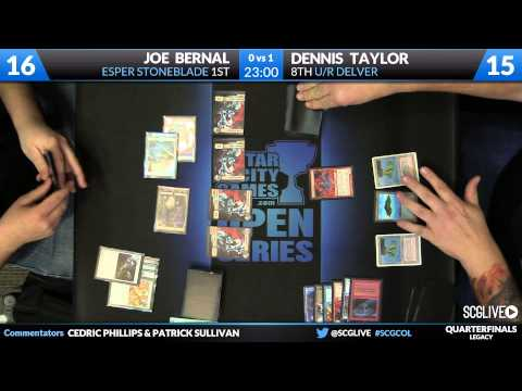 SCGCOL - Legacy - Quarterfinals - Joe Bernal vs Dennis Taylor