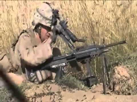 Firefight in Marjah Afghanistan Real Time
