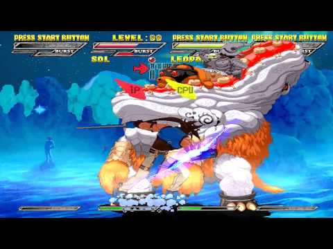 Guilty Gear Isuka PC Steam Release - Final Boss