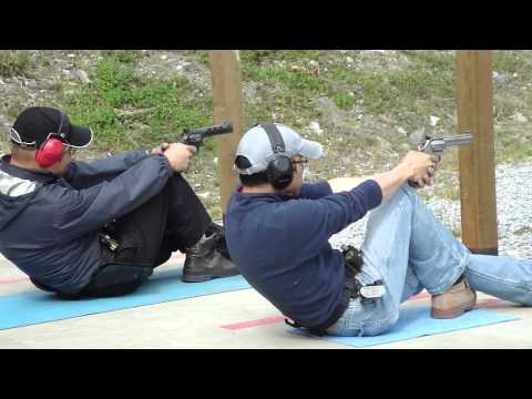 [HD] Lawrence Tsui and David Leung Sir at the PPC match shooting Revolver