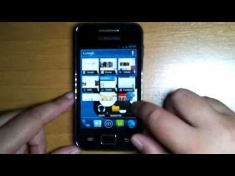 CM9 Beta10 Android ICS 4.0.4 on Samsung Galaxy Ace