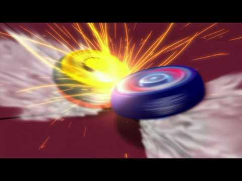 Galaxy Pegasis W105R²F VS Rock Giraffe R145WB - AMVBB Beyblade Battle