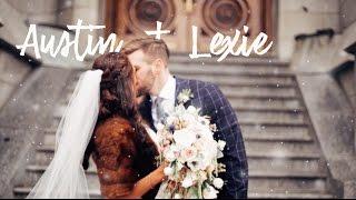 Wedding In The Snow Austin Lexie