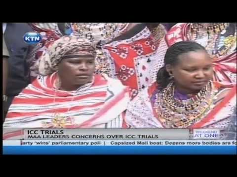 ICC Trials raising anxiety in Naivasha, say Masai leaders