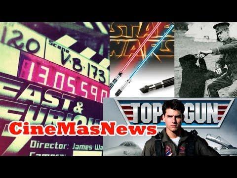 Rápido y Furioso 7, origen del sable de StarWars, Tom Cruise Top Gun 2, Winnie Pooh el Origen