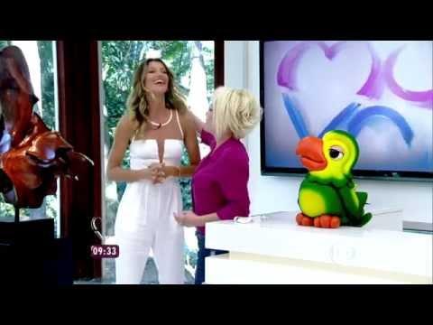Gisele Bündchen - Mais Você (August 25, 2014) - Part 2/2