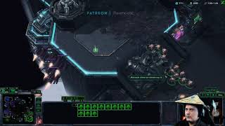 StarCraft 2 Terran vs Zerg Wacky Widow Warp
